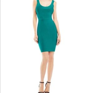 BCBG green bodycon dress! NWT